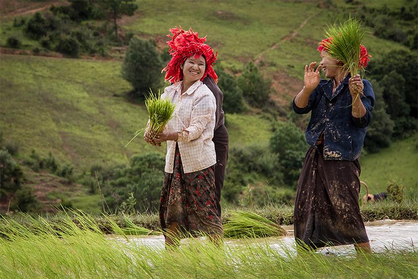 Charmes de Birmanie
