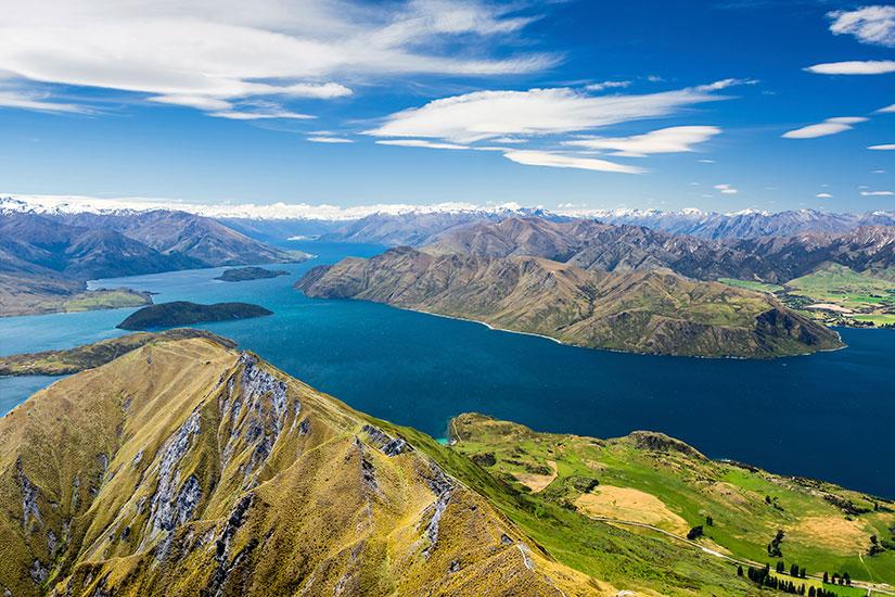 Nouvelle-Zélande, entre Ile Fumante et Ile de Jade