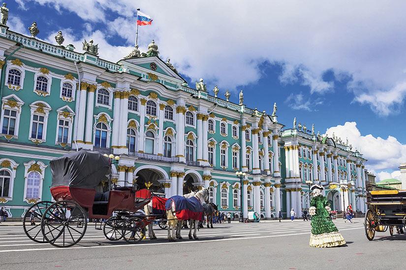 La Russie, de kremlins en Ermitage sur vols Air France