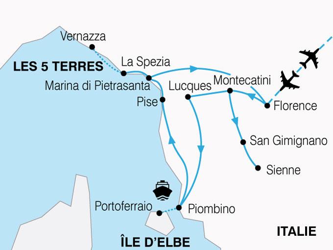 Célèbre Circuit en Italie : Les Joyaux de Toscane 8 jours - Salaün Holidays YI96