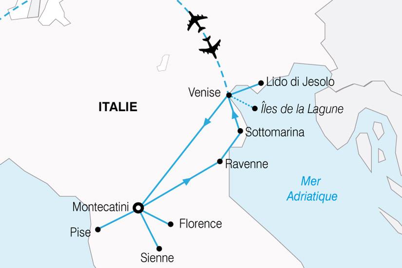 Populaire Circuit en Italie : Venise et la Toscane 8 jours - Salaün Holidays GE58