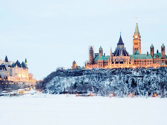 Image  canada ottawa hiver