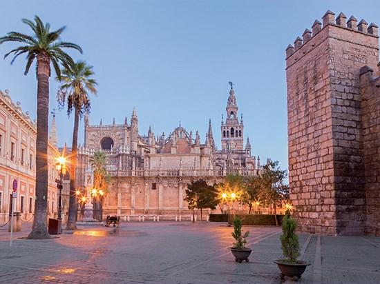 Image  espagne seville cathedrale alcazar