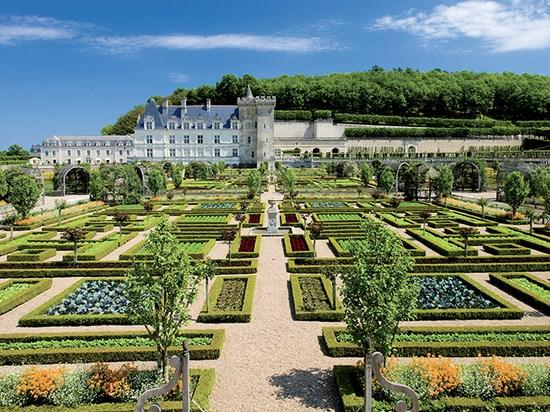 Image  france jardins villandry