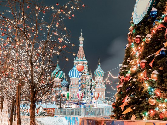 Image  russie moscou place rouge