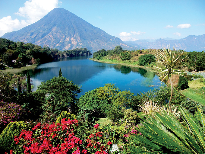Image Amerique Latine Guatemala Honduras lac atitlan