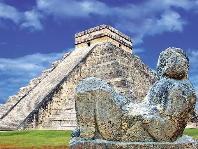 Image Amerique Latine Mexique Pyramide de Chichen Itza