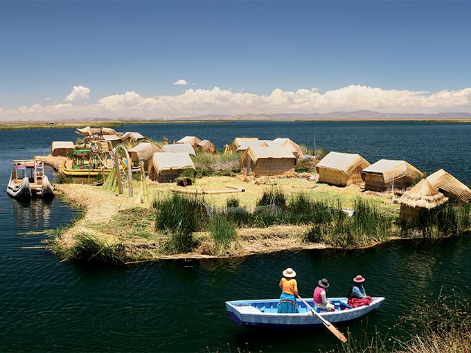 Image Amerique Latine Perou le lac Titicaca