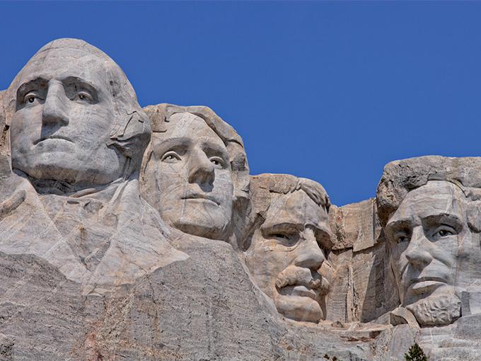 Image Amerique du Nord Etats unis Mount Rushmore