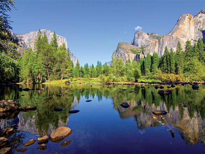 Image Amerique du Nord Etats unis le parc de Yosemite