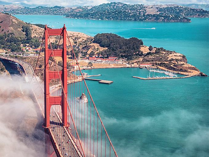 Image Amerique du Nord San Francisco Golden Gate