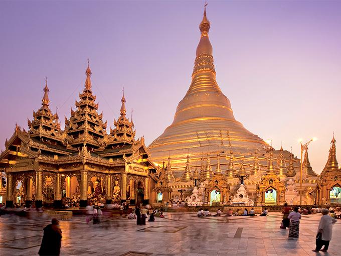 Image Asie Birmanie Yangon