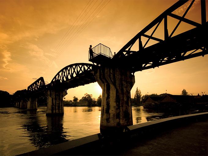 Image Asie Thailande riviere kwai