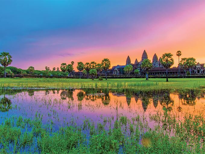 Image Asie cambodge thailande angkor