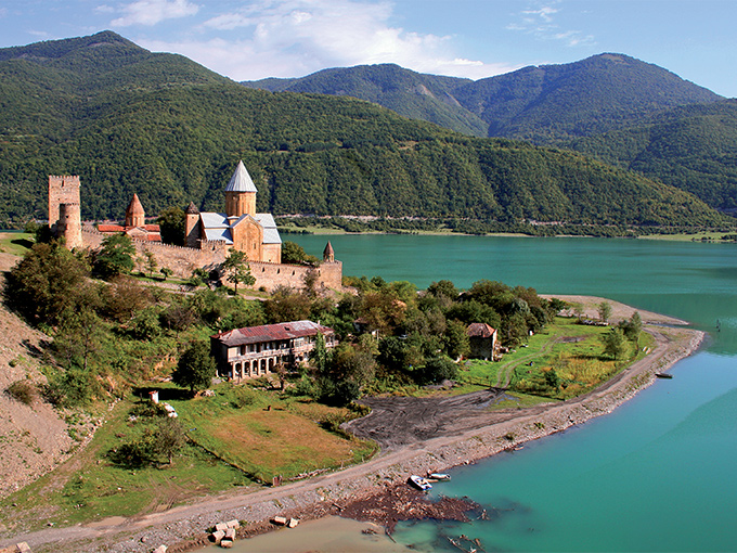 Image Caucase Azerbaidjan georgie ananouri