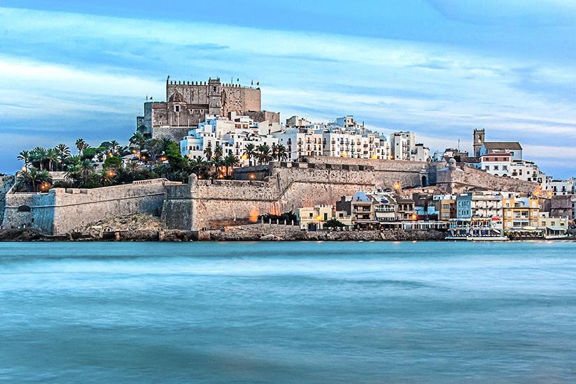 Image Espagne Peniscola chateau 01