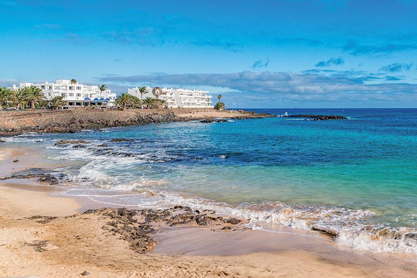 Image Espagne canaries costa de teguise plage  fo