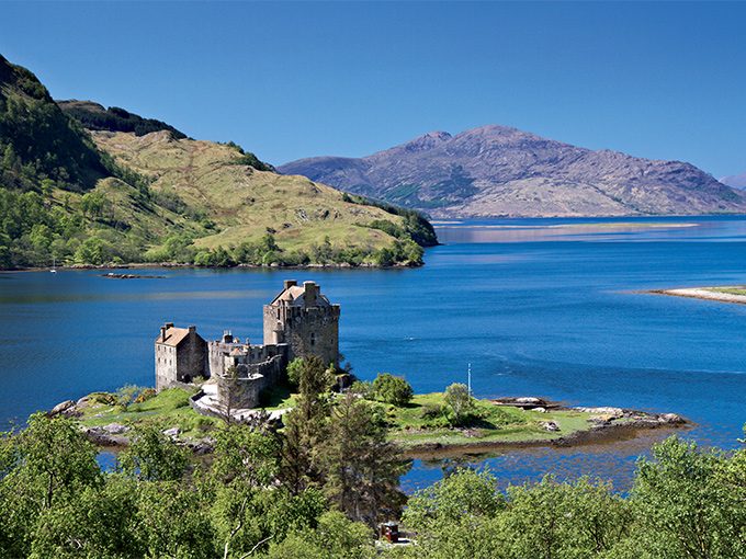 Image Europe Angleterre Ecosse chateau eilean donan