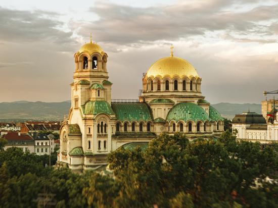 Image bulgarie sofia cathedrale nevsky