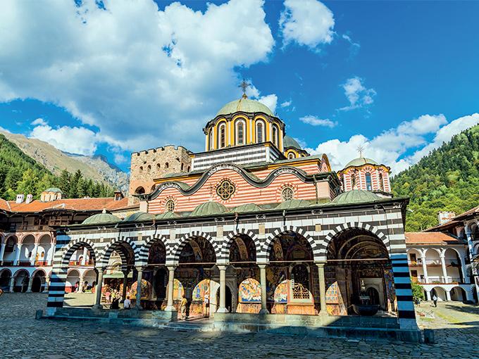 Image europe bulgarie le monastere de rila