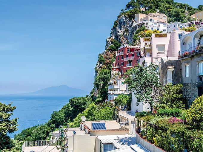 Image europe italie rome capri