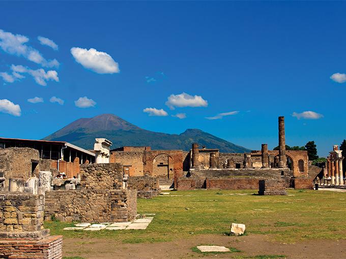 Image europe italie rome pompei