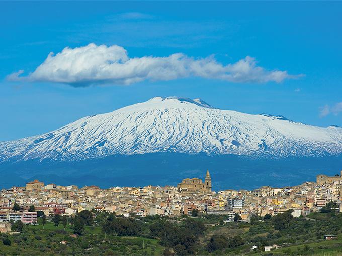 Image europe italie sicile etna