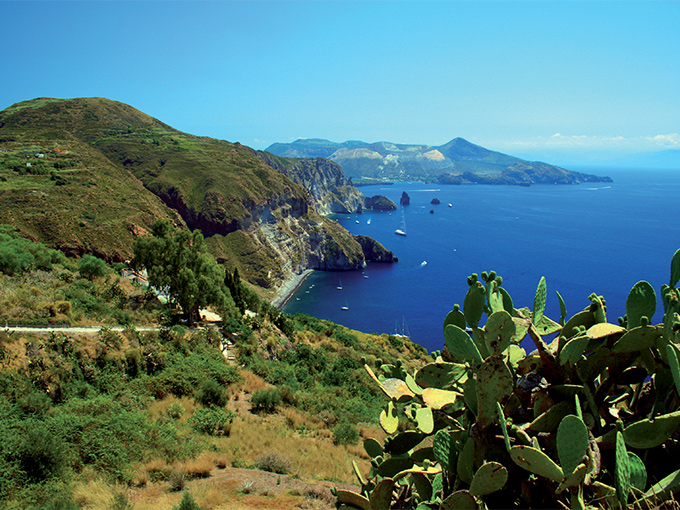 Image europe italie sicile iles ecoliennes vulcano
