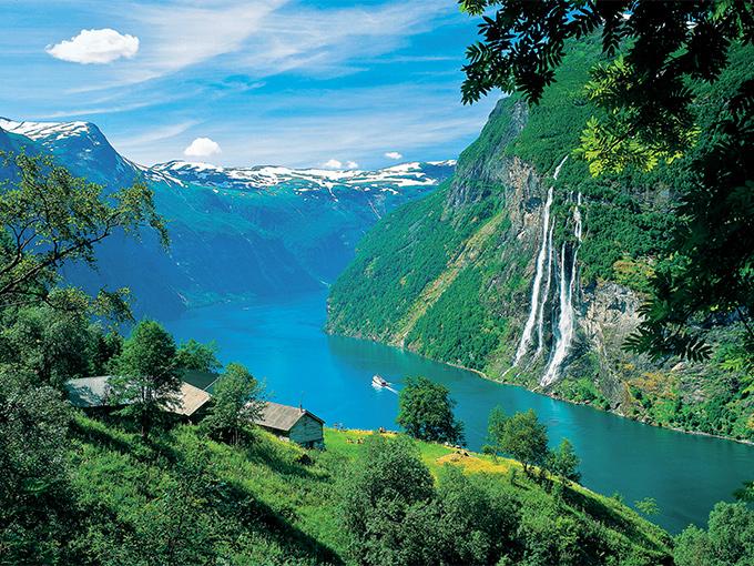 Image europe norvege le geirangerfjord