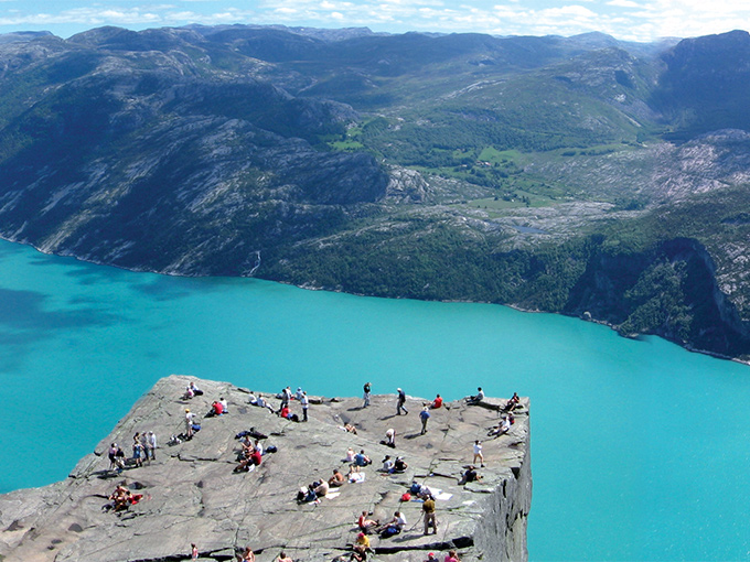 Image europe norvege le lysefjord