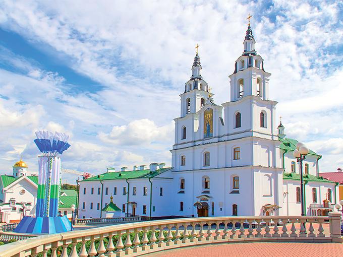 Image europe pologne bielorussie lituanie cathedrale de minsk