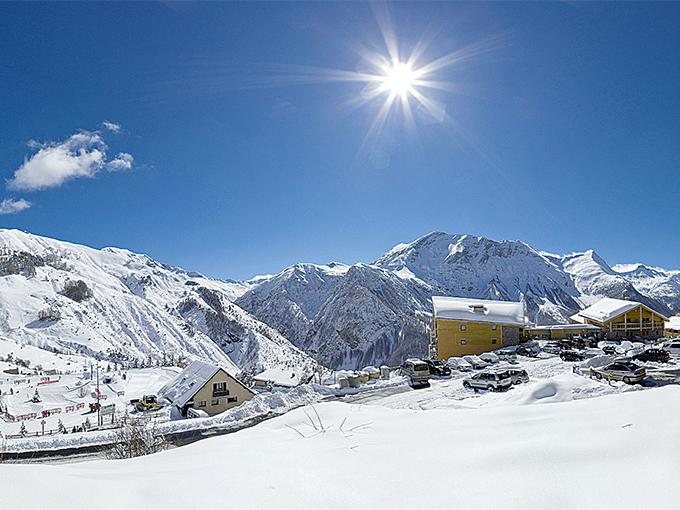 Image france hautes alpes orcieres  villages clubs du soleil vue ensemble