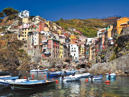 Image italie cinq terres riomaggiore