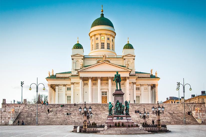 image 1 Helsinki cathedrale soir Helsinki finlande 12 as_72816357