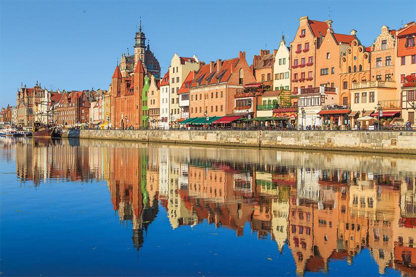 image 1 Port de la riviere Motlawa avec la vieille ville de Gdansk Pologne 46 as_71011807