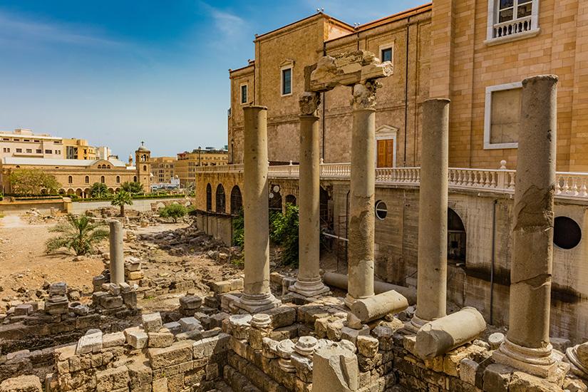 image 1 liban beyrouth ruines Roman Cardo Maximus 11 it_697031430