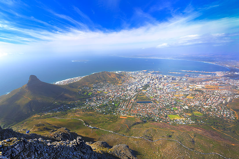 image Afrique Sud Cape Town panorama  it
