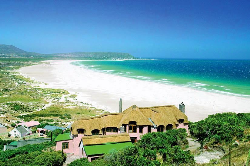 image Afrique du Sud Cape Town Hout Bay Plage  fo