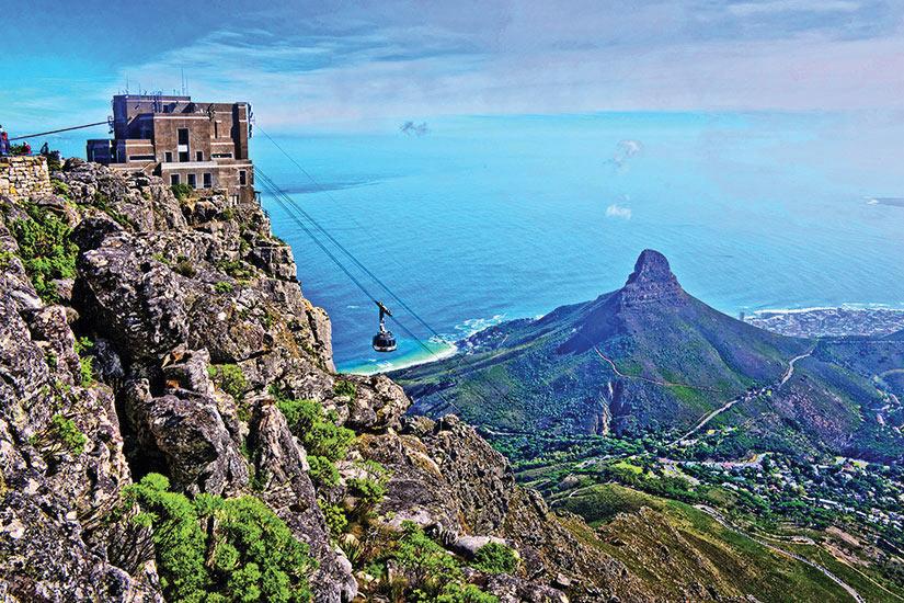 image Afrique du Sud Cape Town Vue Table Mountain  fo