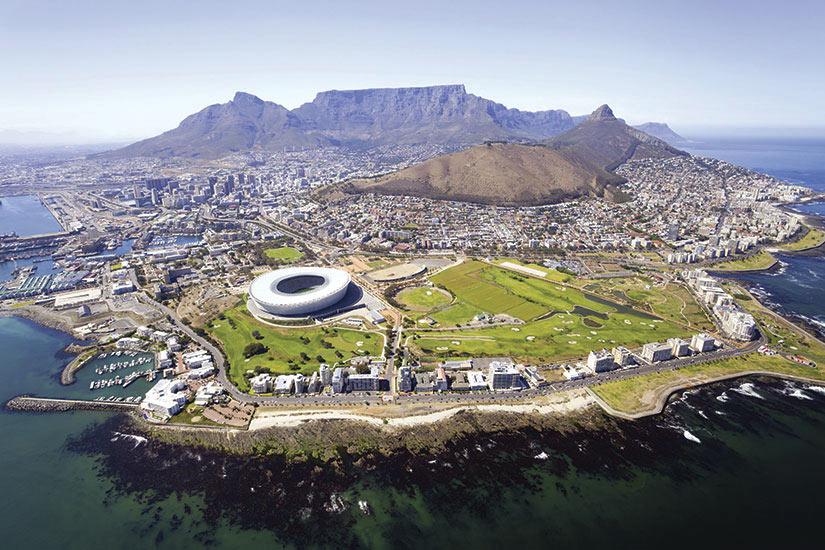 image Afrique du Sud Cape Vue aerienne  it