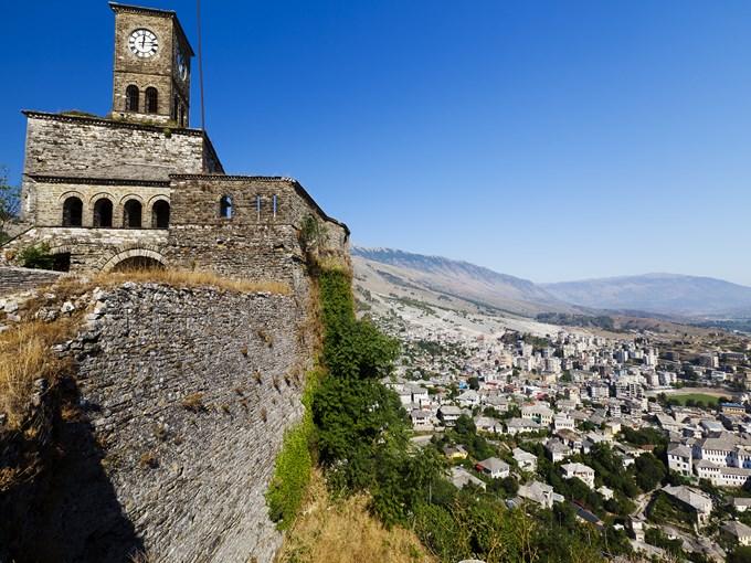 image Albanie forteresse de gjirokaster