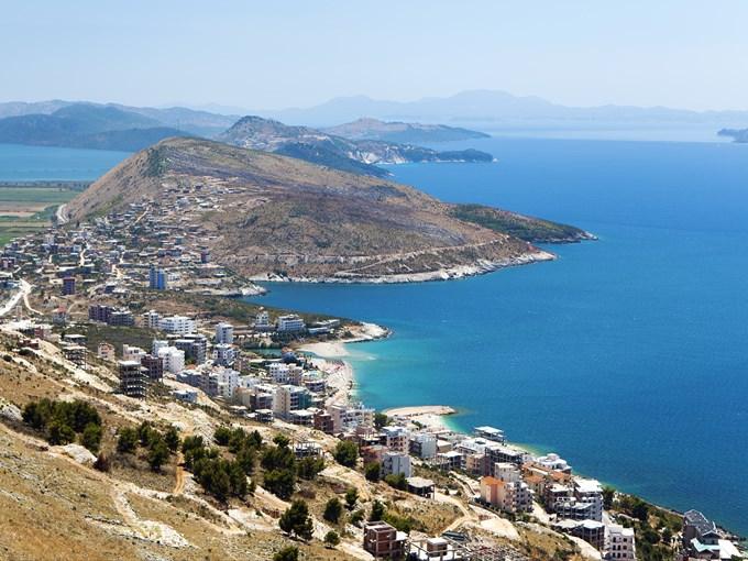 image Albanie sarande vue densemble
