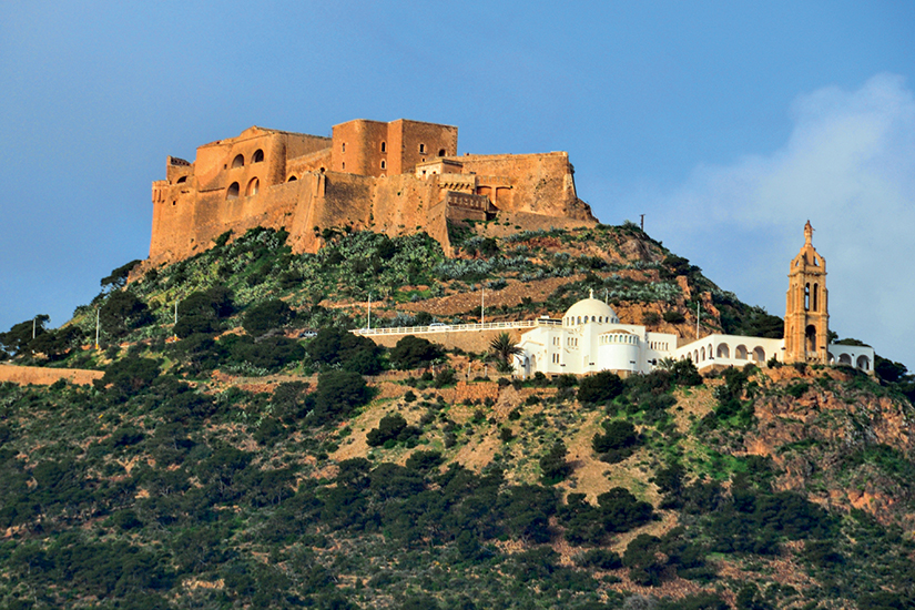 image Algerie oran forteresse santa cruz  it