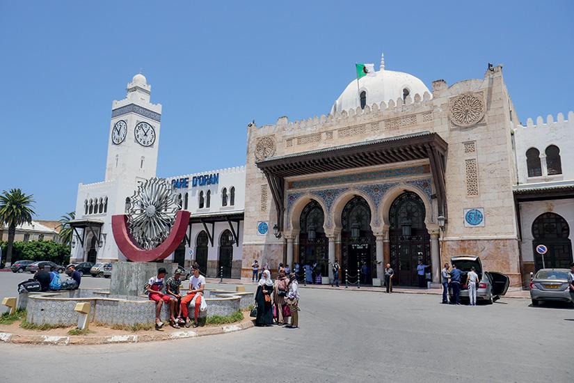 image Algerie oran gare