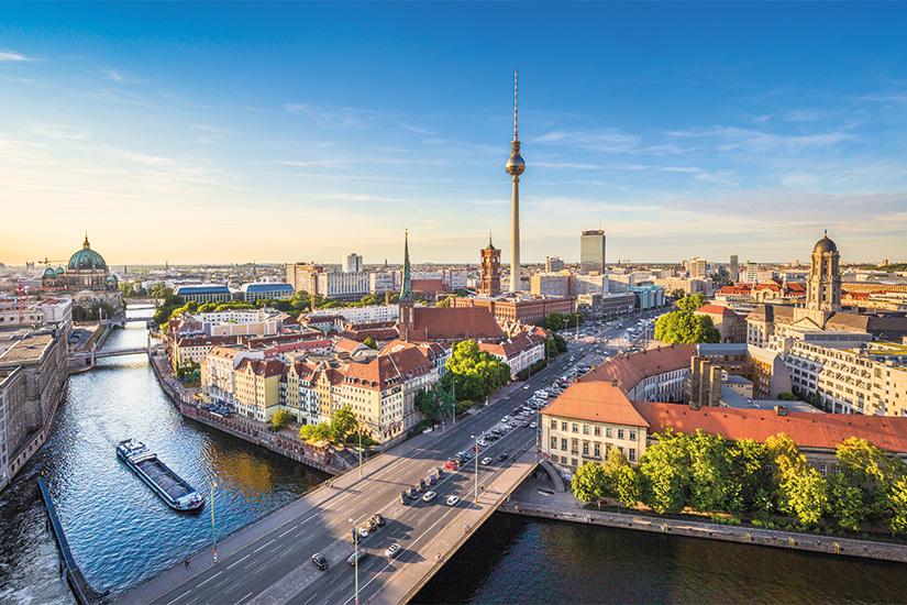 image Allemagne Berlin tour de television et riviere Spree 17 as_91600450