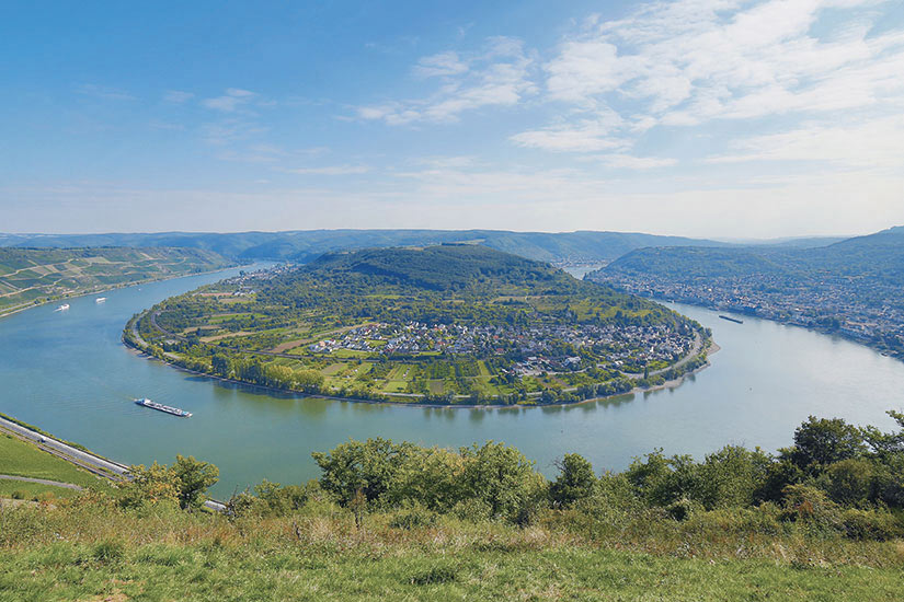 image Allemagne Boppard Rhin Panorama  it
