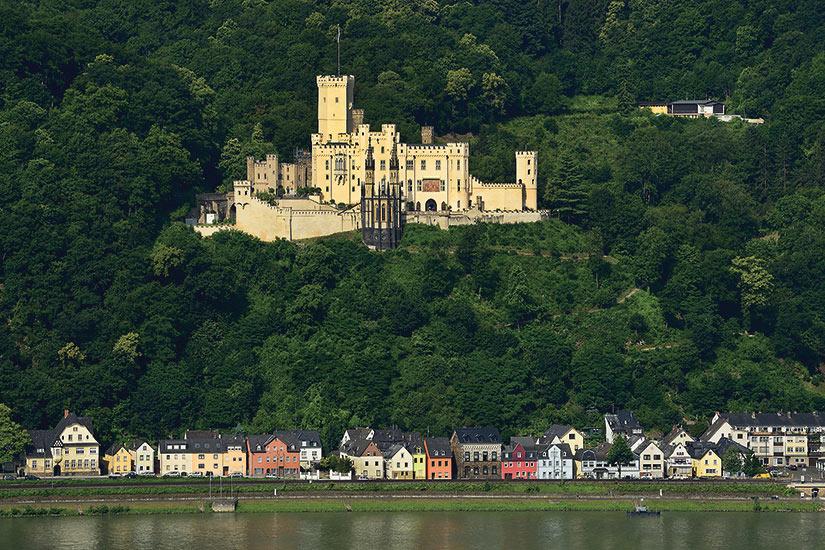 image Allemagne Coblence Chateau de Stolzenfels Valle du Rhin  fo