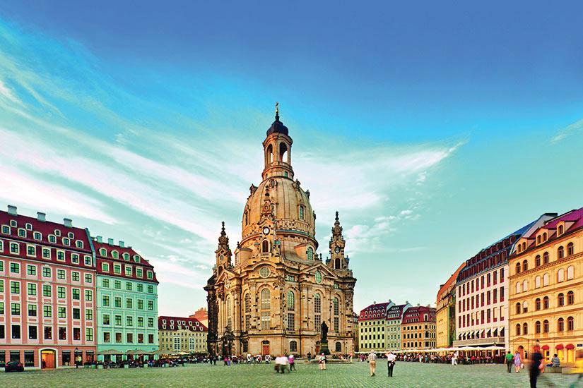 image Allemagne Dresde Eglise Notre Dame de Dresde  it