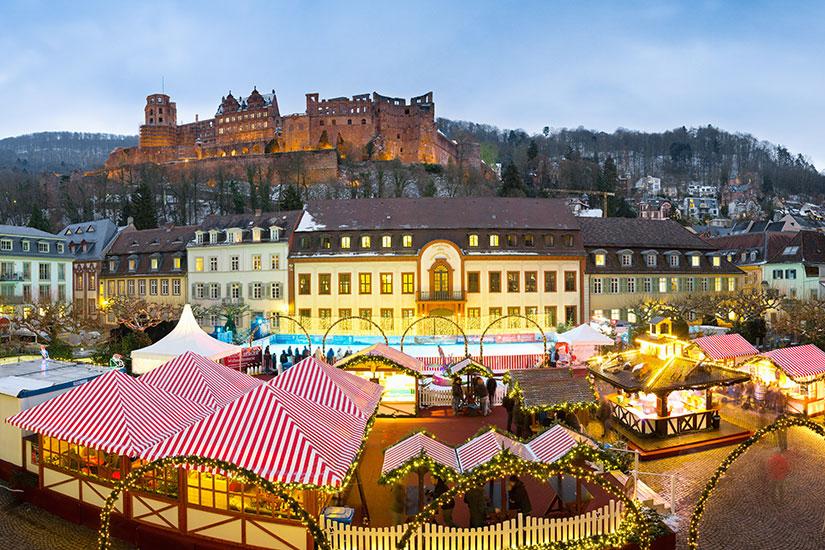 image Allemagne Heidelberg Marche Noel  fo