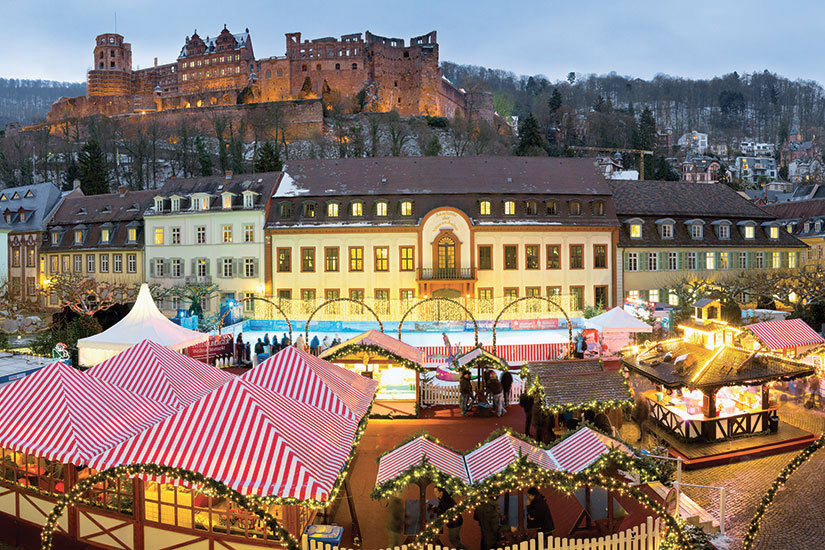 image Allemagne Heidelberg Marche de Noel  fo